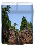 Gauthier Falls In Late August Duvet Cover