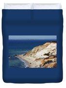 Gay Head Cliffs And Beach Duvet Cover