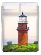Gay Head Lighthouse Duvet Cover