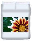 Gazania Flower Design Duvet Cover
