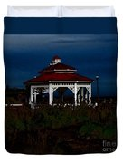 Gazebo  22 Fletcher Lake Duvet Cover