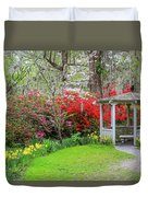 Gazebo View Duvet Cover