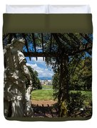 Gazebo With A View Duvet Cover