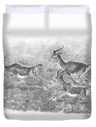Gazelles Duvet Cover