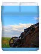 Gears Of History Duvet Cover