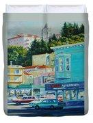 Geary Street Duvet Cover