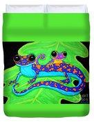 Geckos Duvet Cover