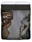 Gehry Buildings Dusseldorf Duvet Cover