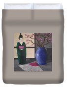 Geisha Doll Duvet Cover