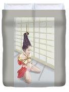 Geisha Duvet Cover