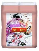 Gel Art #1 Duvet Cover