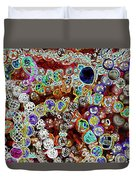 Multiverse Gelaxy Dark Duvet Cover