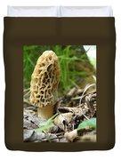 Gem Of The Forest - Morel Mushroom Duvet Cover