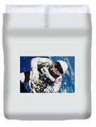 Gemini 4: Spacewalk, 1965 Duvet Cover