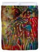 Gemini Abstract Duvet Cover