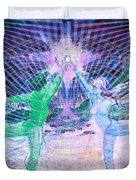 Gemini Moon Mandala Duvet Cover