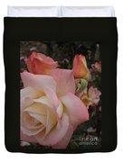 Gemini Rose Duvet Cover