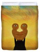 Gemini. Self-portrait Duvet Cover