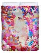 Gemini Woman Duvet Cover