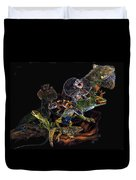Gems And Jewels Duvet Cover