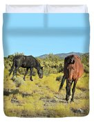 Gems Of Cold Creek Duvet Cover