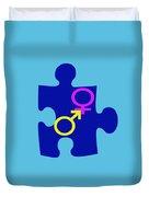 Gender Conundrum Duvet Cover