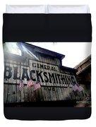 General Blacksmithing Duvet Cover