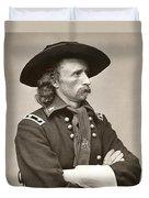 General Custer Duvet Cover