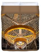 General Electric Cleveland Playhouse Chandelier Duvet Cover