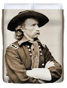 General George Custer Duvet Cover