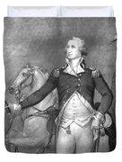 General George Washington At Trenton Duvet Cover