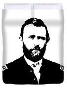 General Grant Black And White  Duvet Cover