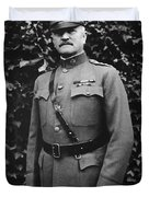 General John J. Pershing Duvet Cover