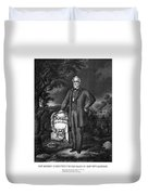 General Lee Visits The Grave Of Stonewall Jackson Duvet Cover