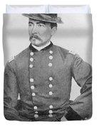 General Sheridan Civil War Portrait Duvet Cover