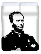 General Sherman Duvet Cover