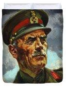 General Sir Alan Cunningham Duvet Cover