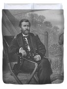 General U.s. Grant Duvet Cover by War Is Hell Store