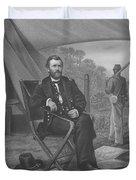 General U.s. Grant Duvet Cover