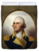 General Washington - Porthole Portrait  Duvet Cover