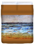 Generations Abstract Landscape Duvet Cover
