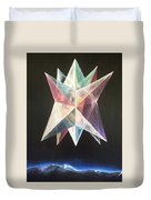 Genesis Creation Narrative Day 6 Duvet Cover