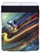 Genesis Of Decay Urban Abstract Duvet Cover