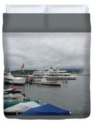 Geneva Lake Duvet Cover