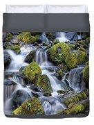 Gentle Cascade Duvet Cover