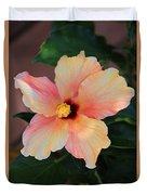 Gentle Hibiscus Duvet Cover
