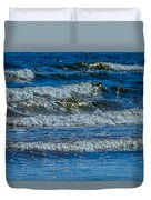 Gentle Roll Of The Waves Duvet Cover