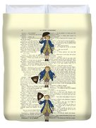 Gentlemen Taking A Bow Dressed As Napoleon Bonaparte Duvet Cover