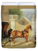 Gentlemen's Carriages - A Cabriolet Duvet Cover