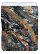 Geologica II Duvet Cover by Julian Perry